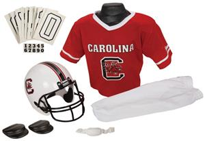 College Yth Football Team Uniform Set S. CAROLINA