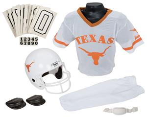 Collegiate Youth Football Team Uniform Set TEXAS