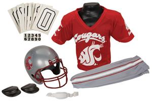 Collegiate Youth Football Team Uniform Set WASH ST