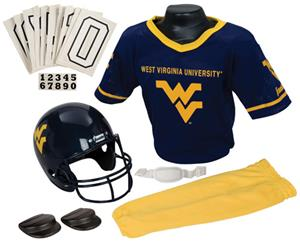 College Yth Football Team Uniform Set W. VIRGINIA