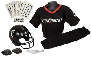 College Yth Football Team Uniform Set CINCINNATI