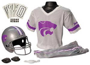 College Yth Football Team Uniform Set KANSAS STATE