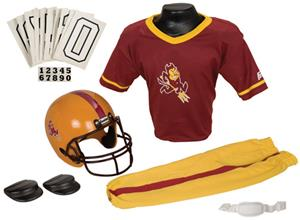 College Yth Football Team Uniform Set ARZONA STATE