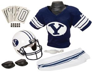 College Youth Football Team Uniform Set BYU