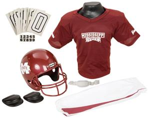 College Youth Football Team Uniform Set MISS STATE