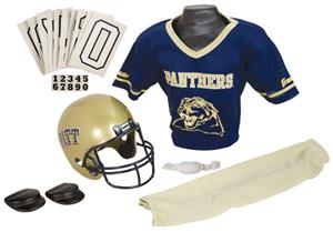 College Yth Football Team Uniform Set PITT PANTHER