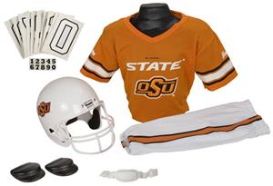 College Yth Football Team Uniform Set OKLAHOMA ST