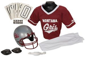 College Youth Football Team Uniform Set MONTANA