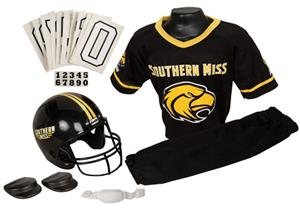 College Yth Football Team Uniform Set SOUTH MISS