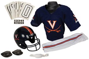 College Youth Football Team Uniform Set VIRGINIA