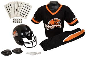 College Youth Football Team Uniform Set OREGON ST