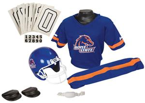 College Youth Football Team Uniform Set BOISE ST