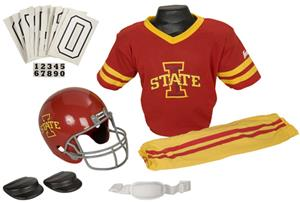 College Youth Football Team Uniform Set IOWA STATE