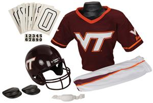 College Yth Football Team Uniform Set VIRGINIA TEC