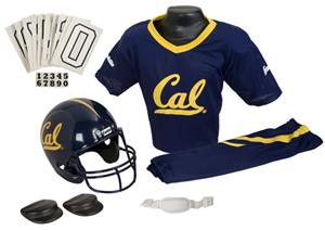 College Youth Football Team Uniform Set CALIFORNIA