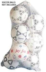 Jaypro Nylon Cord Mesh Soccer Ball Bag