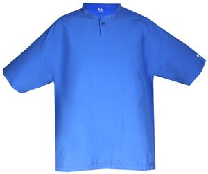 Badger Youth Short Sleeve Warm-Up Windshirts