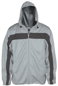 Badger Womens Hooded Warm-Up Jackets
