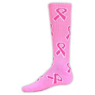 Red Lion Breast Cancer Pink Ribbon Socks
