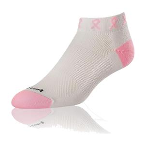 Twin City Breast Cancer Ribbon Roll Socks (12+)