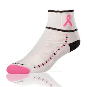 Cancer Awareness Ribbon Quarter II Socks (12+)