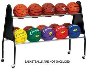 Champion Sports Basketball 15 Ball Cart