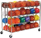 Champion Sports 48 Ball Double Ball Rack