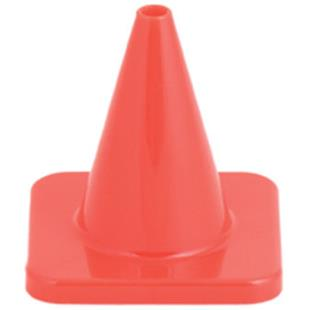 "Champion Hi Visibility 4"" Flexible Vinyl Cones"