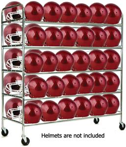 Champion Sports Football Helmet Cart - Holds 60