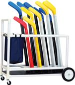 Champion Sports Deluxe ABS Floor Hockey Cart