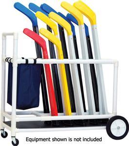 Champion Sports Deluxe ABS Floor Hockey Cart