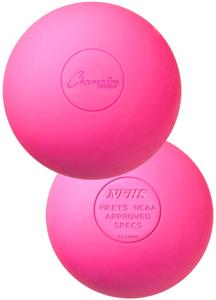 Champion NCAA Official Lacrosse Balls - Pink (DOZ)
