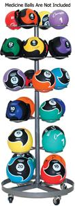 Champion Sports Select Medicine Ball Rack