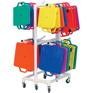 Champion Sports Scooter ABS Storage Cart