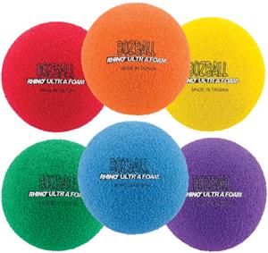 Champion Rhino Foam No Bounce Ball (set of 6)