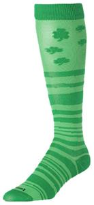 Twin City Krazisox Over the Calf Shamrock Socks