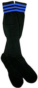 NISOA Italian Referee Blue Striped Socks