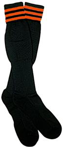 NISOA Italian Referee Orange Striped Socks