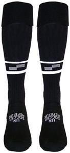US Soccer Economy Referee Black Socks