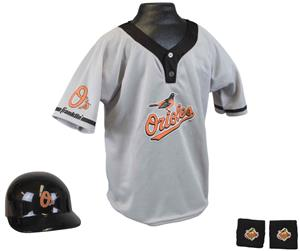 MLB ORIOLES Kids Team Baseball Set Uniform