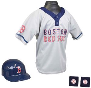 MLB RED SOX Kids Team Baseball Set Uniform