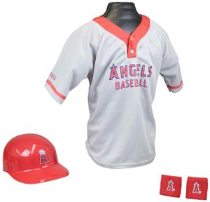 MLB ANGELS Kids Team Baseball Set Uniform
