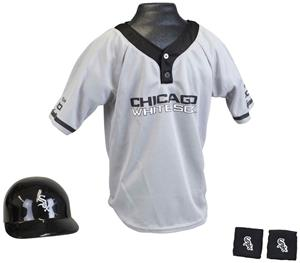 MLB WHITE SOX Kids Team Baseball Set Uniform