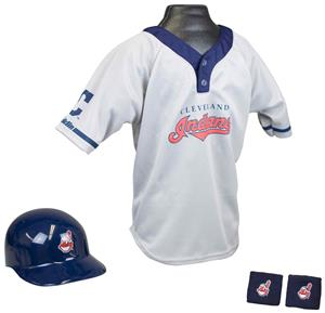 MLB INDIANS Kids Team Baseball Set Uniform