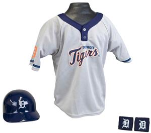 MLB TIGERS Kids Team Baseball Set Uniform