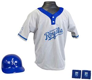 MLB KC ROYALS Kids Team Baseball Set Uniform