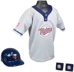 MLB TWINS Kids Team Baseball Set Uniform