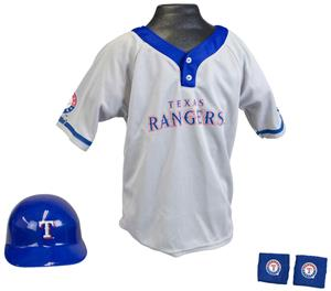 MLB RANGERS Kids Team Baseball Set Uniform
