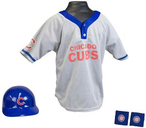 MLB CUBS Kids Team Baseball Set Uniform