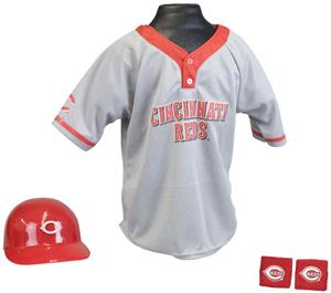 MLB REDS Kids Team Baseball Set Uniform